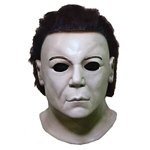 『ハロウィン?レザレクション』マイケル・マイヤーズ マスク 公式ライセンスコスプレ衣装 (二次会、仮装、パーティー)大人男性用