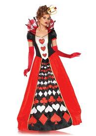 デラックス ハートの女王 アリス 2点セット 仮装コスチューム コスプレ /LEG AVENUEレッグアベニュー コスプレ・仮装・ハロウィン・女性大人用