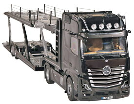 【予約】10-12月以降発売予定LOHR car Transporter積載車キャリアカー / メルセデス・ベンツアクトロス set #992/30 + #971 建設機械模型 工事車両NZG 1/18 ミニチュア