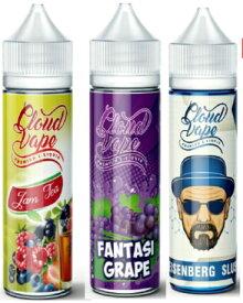 電子タバコ vaporever プレミアムEリキッド 60ml 超特大 ジュース フレーバー Vapeベイプ 人気 禁煙 eGo-T CE4 あす楽