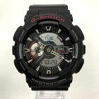【中古】G-SHOCK ジーショック 腕時計 GA-110 CASIO カシオ メンズ ブラック 黒 中古品 05r3075