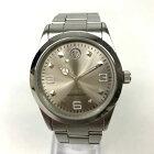 【中古】WENGER ウェンガー クオーツ 腕時計 メンズ シルバー 銀 中古品 05r3086