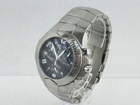 【中古】SECTOR セクター 134 クロノグラフ シルバー メンズウォッチ 腕時計 04r0200