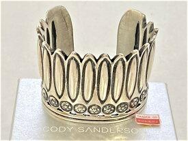 【中古】CODY SANDERSON コディサンダーソン フェザー シルバー バングル SILVER 925 箱付き 03r2485