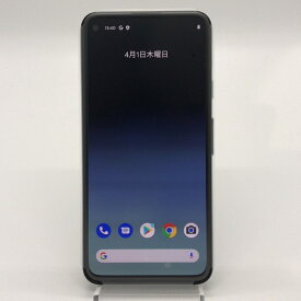 【中古】 安心保証30日付 Google Pixel 4a 128GB Just Black G025M SoftBank解除版 SIMフリー 本体 白ロム/si-pixel4a-011