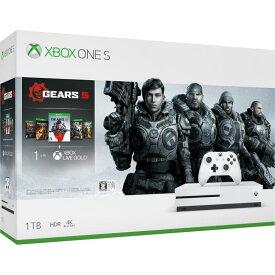 【未使用】(箱開封済) Microsoft Xbox One S 1TB Gears 5 同梱版 234-01035【安心保証90日】【CEROレーティング「Z」】 マイクロソフト ゲーム機 XboxOneS 本体