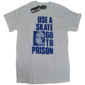 THRASHER スラッシャー Use A Skate Go To Prison Tシャツ USA企画 MARK GONZALES