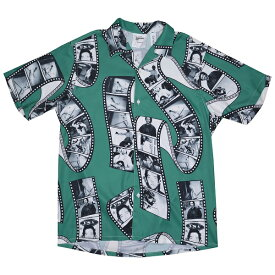 MARK GONZALES マークゴンザレス Film Photo オープンシャツ GREEN