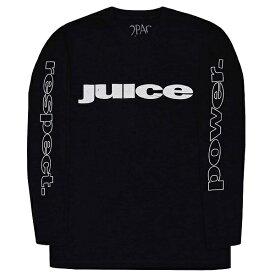 2PAC トゥーパック Tupac Respect ロングスリーブ Tシャツ