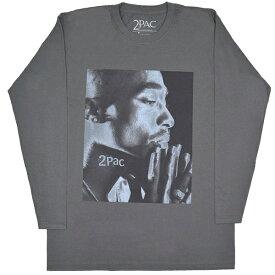 2PAC トゥーパック Tupac Changes Side Photo ロングスリーブ Tシャツ