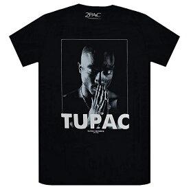 2PAC トゥーパック Tupac Praying Tシャツ BLACK