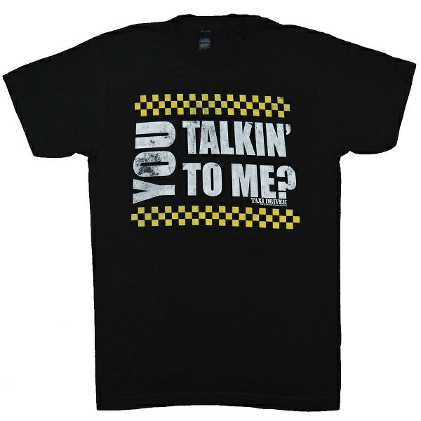 TAXI DRIVER タクシードライバー You Talking To Me? Tシャツ