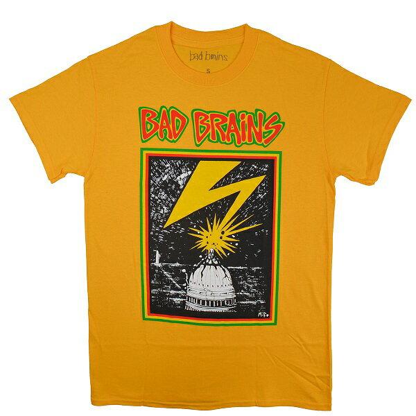 BAD BRAINS バッドブレインズ Capitol Tシャツ BRIGHT YELLOW