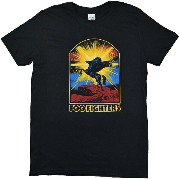 FOO FIGHTERS フーファイターズ Winged Horse Tシャツ