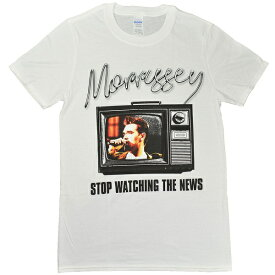 MORRISSEY モリッシー Stop Watching The News Tシャツ