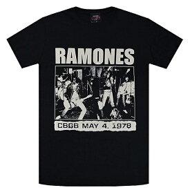 RAMONES ラモーンズ CBGB 1978 Tシャツ