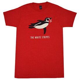 THE WHITE STRIPES ホワイトストライプス Red Penguin Tシャツ