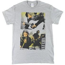 NIRVANA ニルヴァーナ Photo Collage Tシャツ