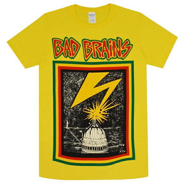 BAD BRAINS バッドブレインズ Capitol Tシャツ YELLOW