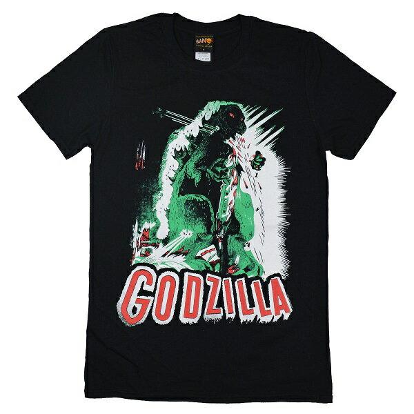 GODILLA ゴジラ Poster Tシャツ
