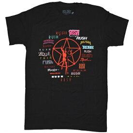 RUSH ラッシュ Through Time Tシャツ