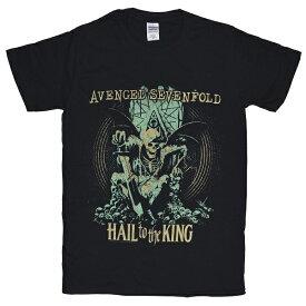 AVENGED SEVENFOLD アヴェンジドセヴンフォールド Hail To The King Tシャツ