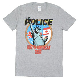 THE POLICE ポリス North American Tour Tシャツ