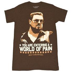 THE BIG LEBOWSKI ビッグリボウスキ World Of Pain Tシャツ