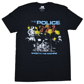 THE POLICE ポリス Ghost In The Machine Live Tシャツ