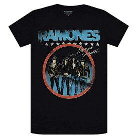 RAMONES ラモーンズ Circle Photo Tシャツ