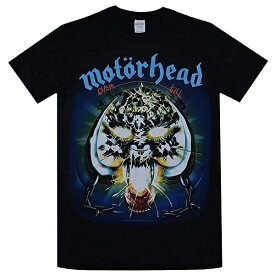MOTORHEAD モーターヘッド Overkill Tシャツ BLACK