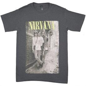 NIRVANA ニルヴァーナ Brick Wall Alley Photo Tシャツ