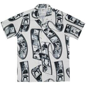 MARK GONZALES マークゴンザレス Film Photo オープンシャツ WHITE