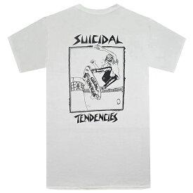 SUICIDAL TENDENCIES スイサイダルテンデンシーズ Pool Skater Tシャツ WHITE