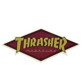 THRASHER スラッシャー Diamond Logo ステッカー GOLD USA企画