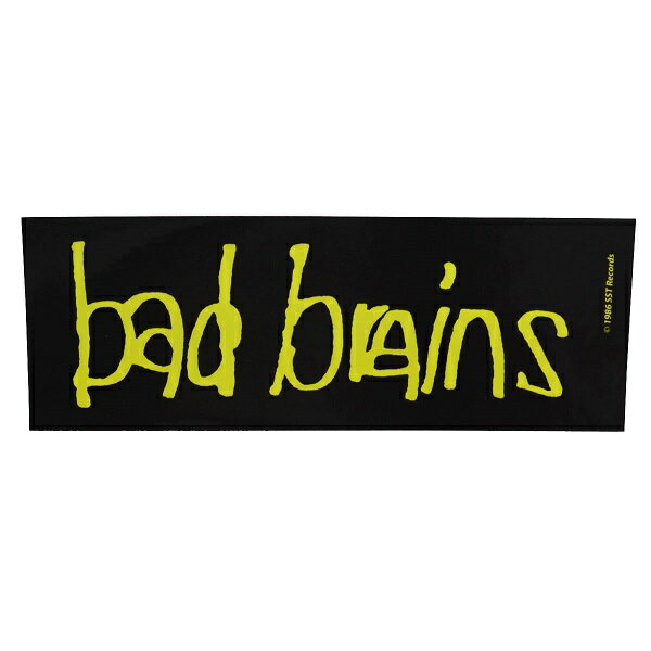 BAD BRAINS バッドブレインズ Logo ステッカー