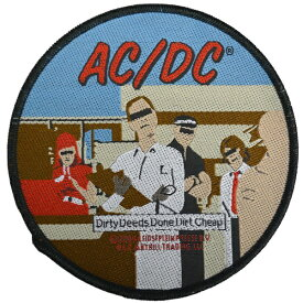 AC/DC エーシーディーシー Dirty Deeds Done Dirt Cheap ワッペン