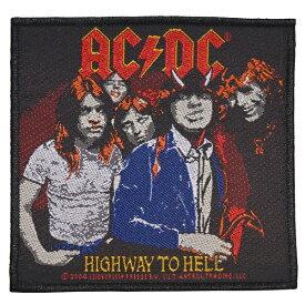 【メール便送料無料】AC/DC Highway To Hell ワッペン【オフィシャル】