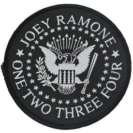RAMONES ラモーンズ Joey Ramone Seal Patch ワッペン
