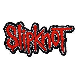 SLIPKNOT スリップノット Logo Cut-out Patch ワッペン