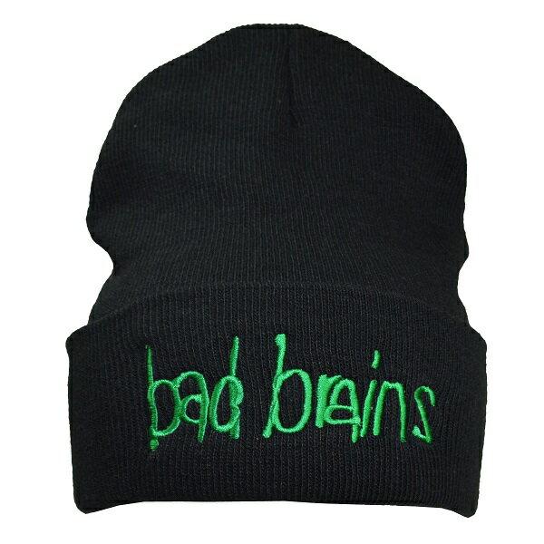 【ネコポス便送料無料】BAD BRAINS Logo ニット帽 2【オフィシャル】