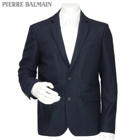 ピエールバルマン PIERRE BALMAIN メンズ ウール テーラードジャケット ダークネイビー 5M2525-07545 サイズ(50)(54)