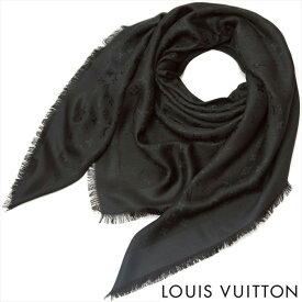 ルイヴィトン LOUIS VUITTON ルイ ヴィトン LV レディース メンズ ストール ショール モノグラム M71329 大判 ノワール ブラック 黒【期間限定特売】
