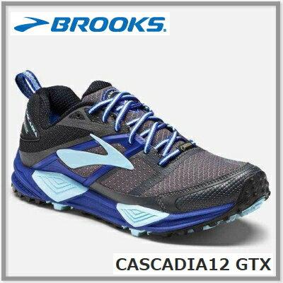 BROOKS ブルックスCASCADIA12 カスケディア12GTX レディス 025<防水>