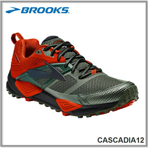 BROOKS ブルックスCASCADIA 12 カスケディア12 メンズ 362