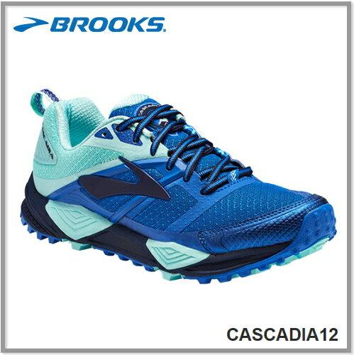 BROOKS ブルックスCASCADIA 12 カスケディア12 ウィメンズ 496