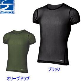【送料無料】finetrack(ファイントラック)ドライレイヤークール半袖Tシャツ・メンズ