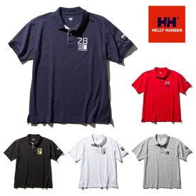 【XXLサイズ対応】【メール便発送】HELLY HANSEN S/S Flag Polo HH32001 ショートスリーブ フラッグポロ (メンズ) ヘリーハンセン 半袖ポロシャツ