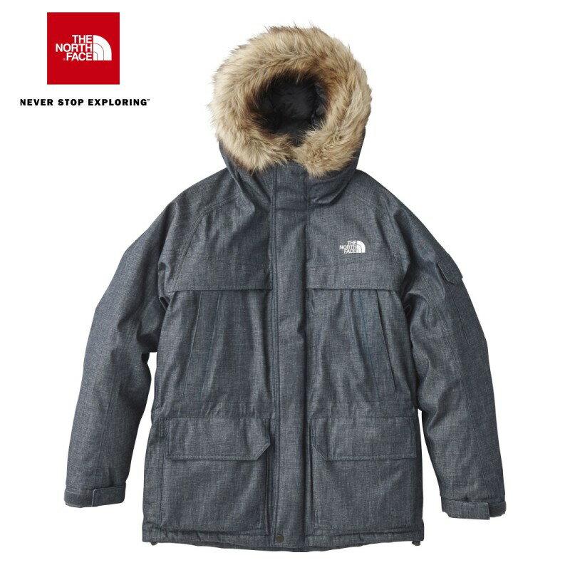 THE NORTH FACE Denim McMurdo Parka ND91736 デニムマクマードパーカ(メンズ) ノースフェイス ダウンジャケット