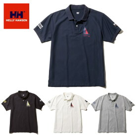 【メール便送料200円選択可】HELLY HANSEN S/S Flag Polo HH31900 ショートスリーブフラッグポロ(メンズ) ヘリーハンセン
